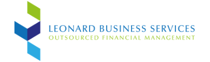 Leonard Business Logo